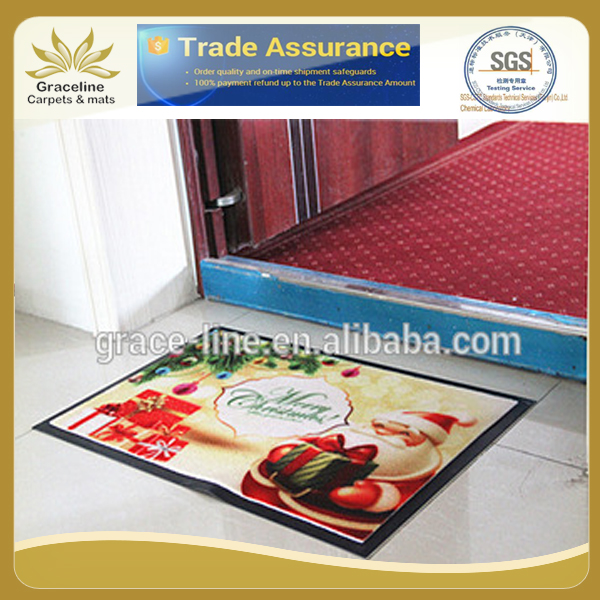 Customized Shop Logo Printed Carpet