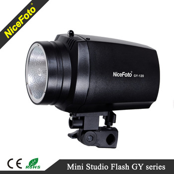 NiceFoto Photographic Equipment Studio lighting Mini Studio strobe flash