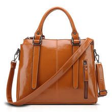 China suppliers cow leather women hand bag fashion bag ladies handbag 2017