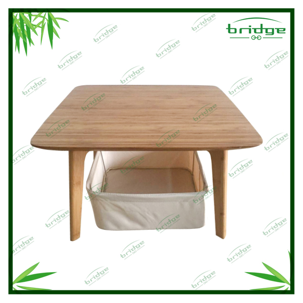 dining table modern and decorative living room table for Korean and Japanese market bamboo table
