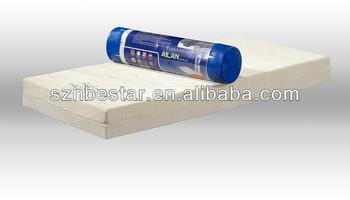Vacuum pack memory foam mattress