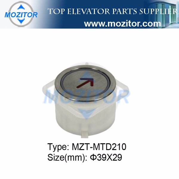 lift components button switch for elevator|MZT-MTD210 push button