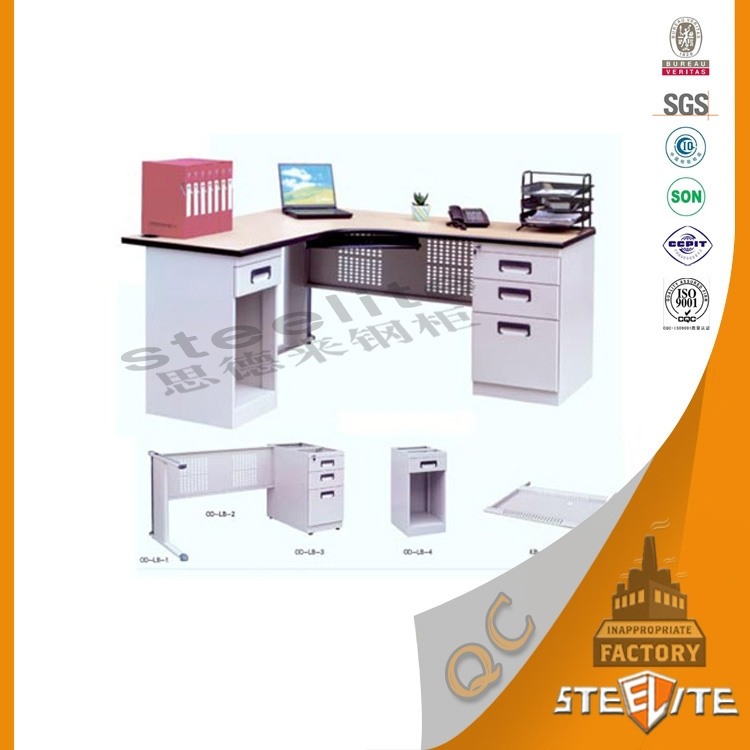 New style modern office furniture luxury executive l shaped office desk