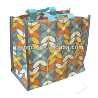 2016 design pp woven plastic fashion shopping Bag Manufacturers suppliers