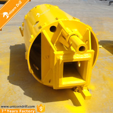 Bored Pile Foundation Rotary Drilling Rig Rock Drilling Auger Bucket