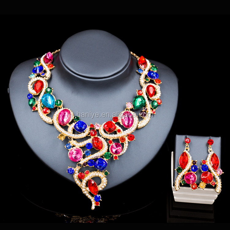 customize African Crystal beads jewelry set,nigerian coral beads jewelry set wedding