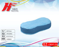 Factory Car Washing Products/Car Washing Sponge with Toweling Cloth&Mesh/CWHF-215