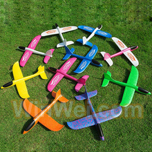 Hand throwing air plane model hand launch EPP foam gliders plane toy