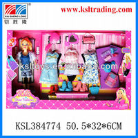 kids funny children plastic beautiful doll toy for sale