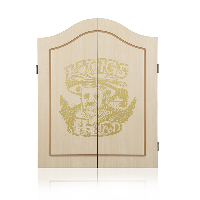 Solid Wood Dartboard Cabinet with Sisal/Bristle Dartboard