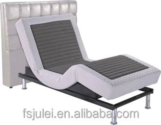 Electric Adjustable Massage Bed With Headboard