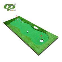 Factory wholesale outdoor and indoor mini mat synthetic grass golf putting green
