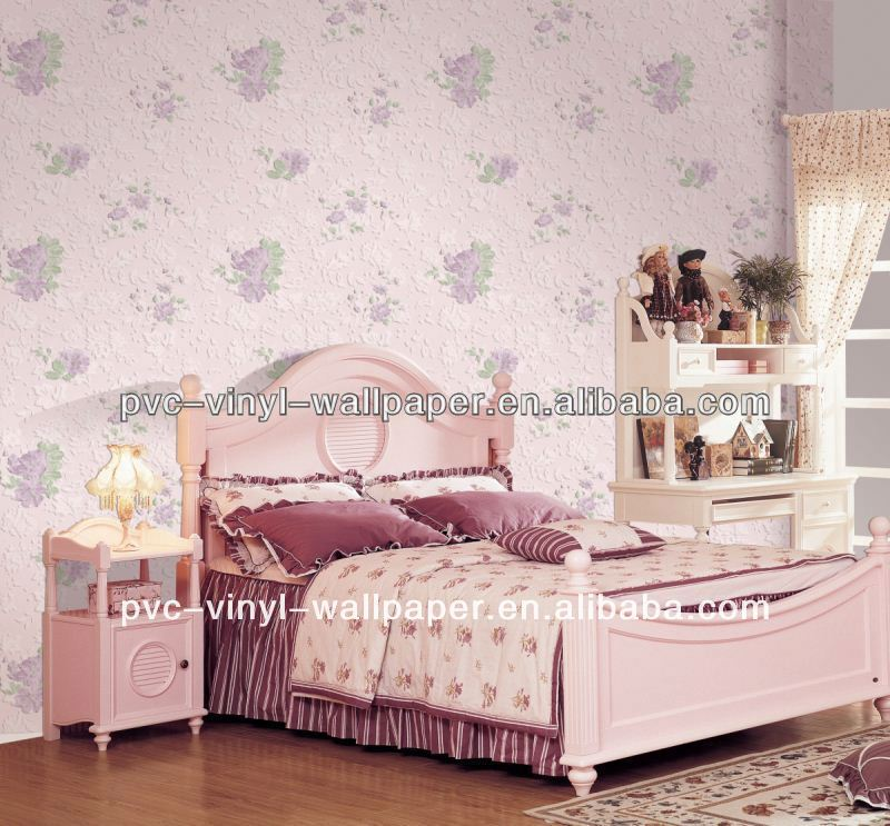2012 hot selling floral natural leaves wall papers beautiful free wallpaper mdf revestimento de parede