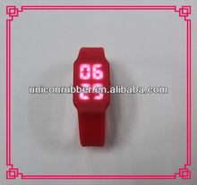 best sale silicone LED watch with USB and charging funtion