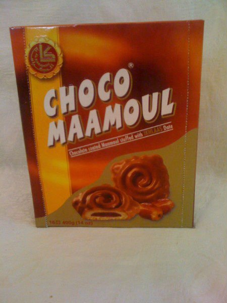 chocolate Maamoul dates