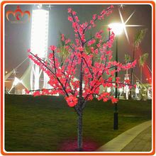 Christmas decoration lighted led crystal tree light