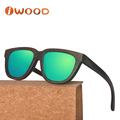 100% natural bamboo handmade bamboo sunglasses polarized uv400 sunglasses