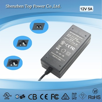 12V 1A 2A 3A 4A 5A 6A 7A SMPS CCTV Power Supply With CE FCC ROHS Certificate