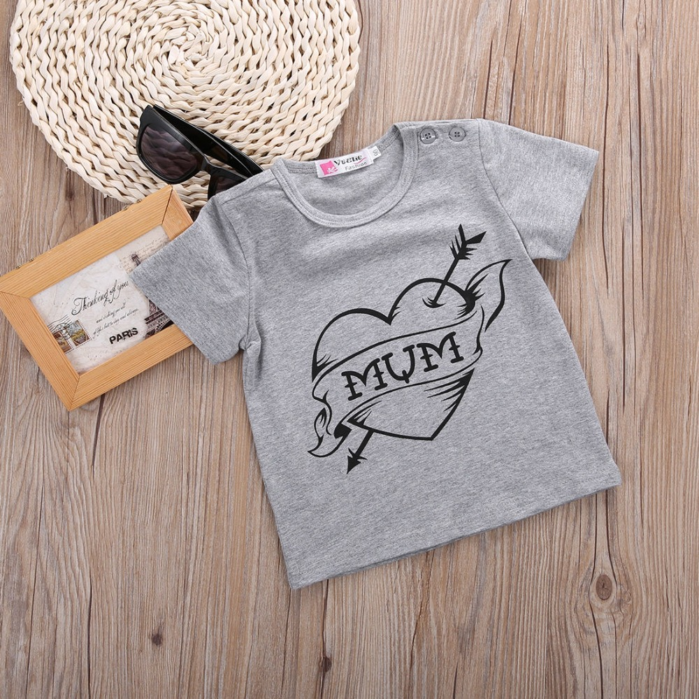 American baby cotton soft t-shirt screen printing children clothing