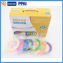 3D Printer Pen Filament ABS/PLA 1.75mm Plastic Rubber Consumables Material 3d pen filament