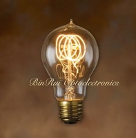 Super Long life span A19 / A60 25W-60W carbon filament edison light bulbs