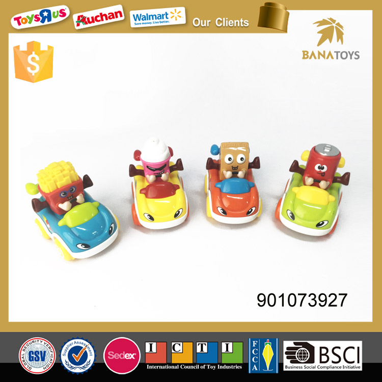 Hot selling friction toy food delivery car