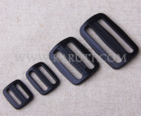 "5/8"" 3/8""Custom plastic adjustable slide strap buckle for belt bag"
