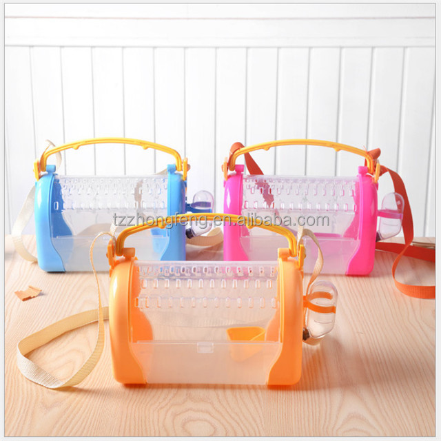 Wholesal hamster cage Travel carry Convenient Novice practical cage hamster accessories