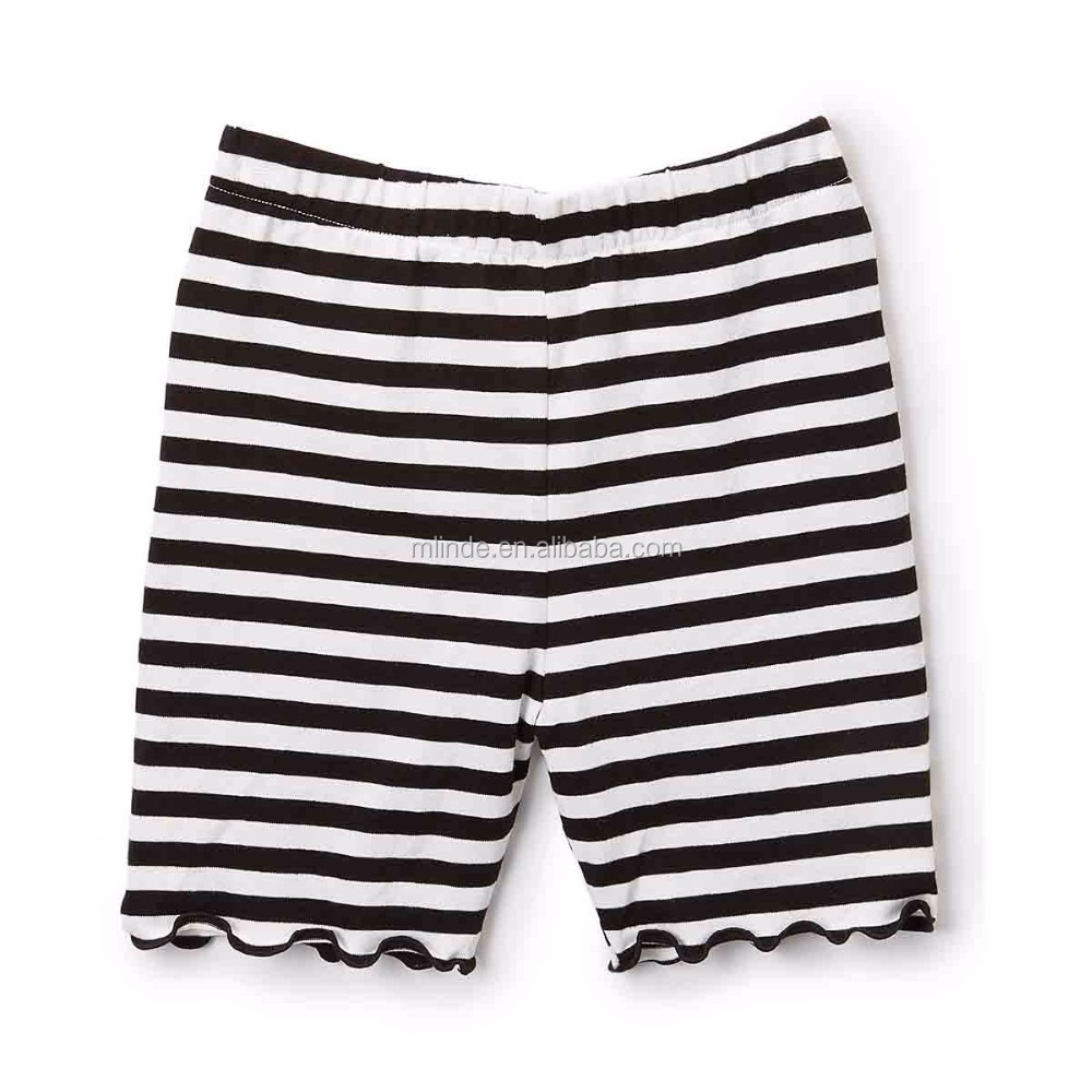 Ruffle Icing Shorts Pink & White Stripe Shorts for Toddler & Girls Blank Board Shorts Wholesale