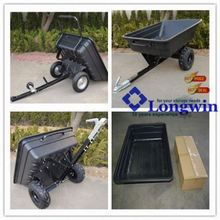 Heavy duty outdoor utility pulled ride on mower trailer sale