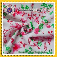 Woven printed poplin cotton brocade fabric
