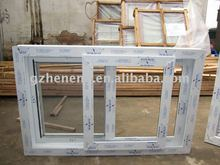 2011new style PVC sliding windows W-P91
