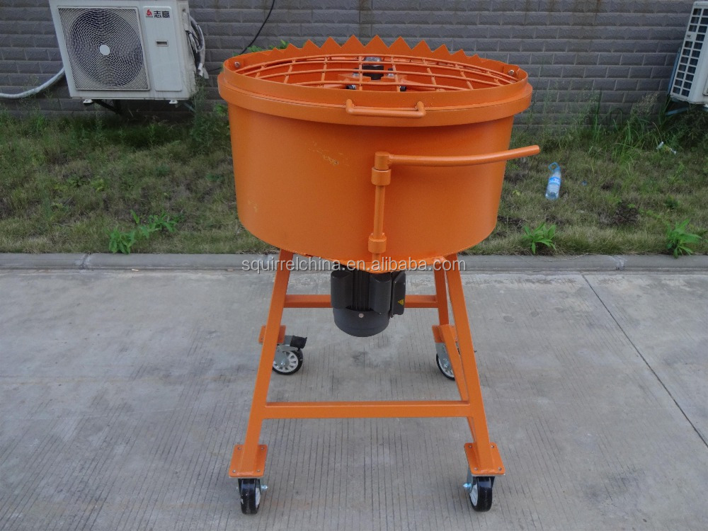 Used Small Cement Mixers : Electric pan concrete mixer buy portable