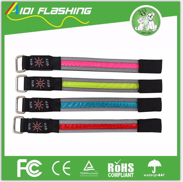 Trending Hot Products 2016 Innovative Ideas Night Running Reflective LED Arm Band For Sports Running,Cycling,Jogging