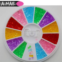 Fashion decoration#PNR-70 Mini Pointback Sharp Acrylic Nail Stones&Rhinestones For manicure tool