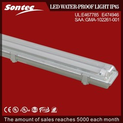 Newest T8 2 lump smooth lines IP65 linear LED