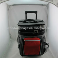 Trolley insulated cooler bag, picnic bag OEM service