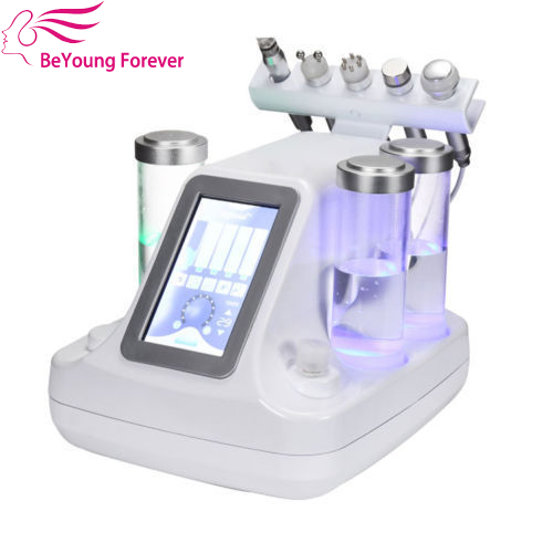 High quality korea small bubble electrical aque bio ultrasonic hydro dermabrasion massager facial pore cleanser beauty machine