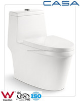 China export siphonic toilet closet cyclone one piece western human toilet