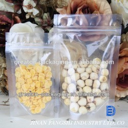 Food Industrial Use Clear Plastic Grain and Dried Fruit Packaging Bag