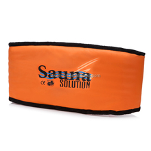 Comfy orange HealthySauna Slimming Belt Electric t Quick Body Slimming Massage Waist Weight Loss Belt