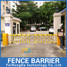 Remote Control Parking Boom Barrier police foldable expandable barriers traffic barrier