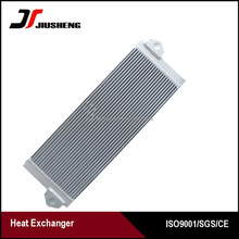High performance Aluminum Plate Fin kobelco sk200 8 oil cooler