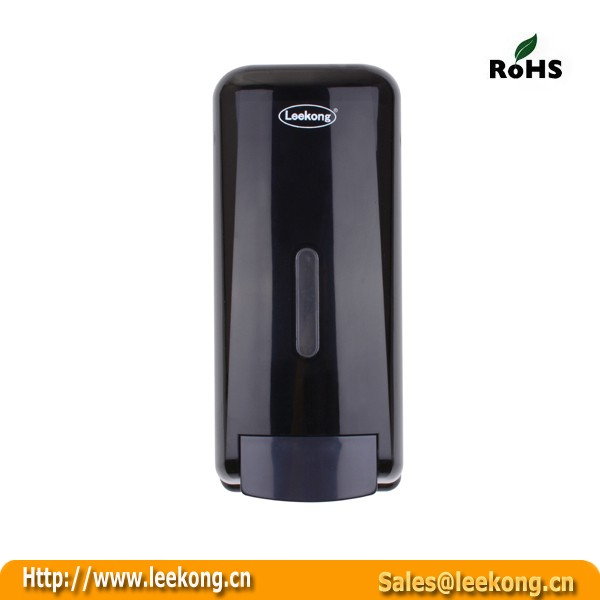 1000ML Bathroom Commercial Black Manual <strong>Bulk</strong> Lotion Dispenser For Liquid Soap
