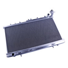 Chinese Manufacture High Performance Full Aluminum Tube Radiator For Mazda RX7 1984-1985