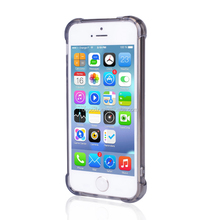 tpu+pc Material and for iPhones Compatible Brand pc tpu bumper case for iphone SE/5S