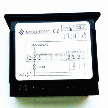 ED 681 digital thermostat with NTC sensor