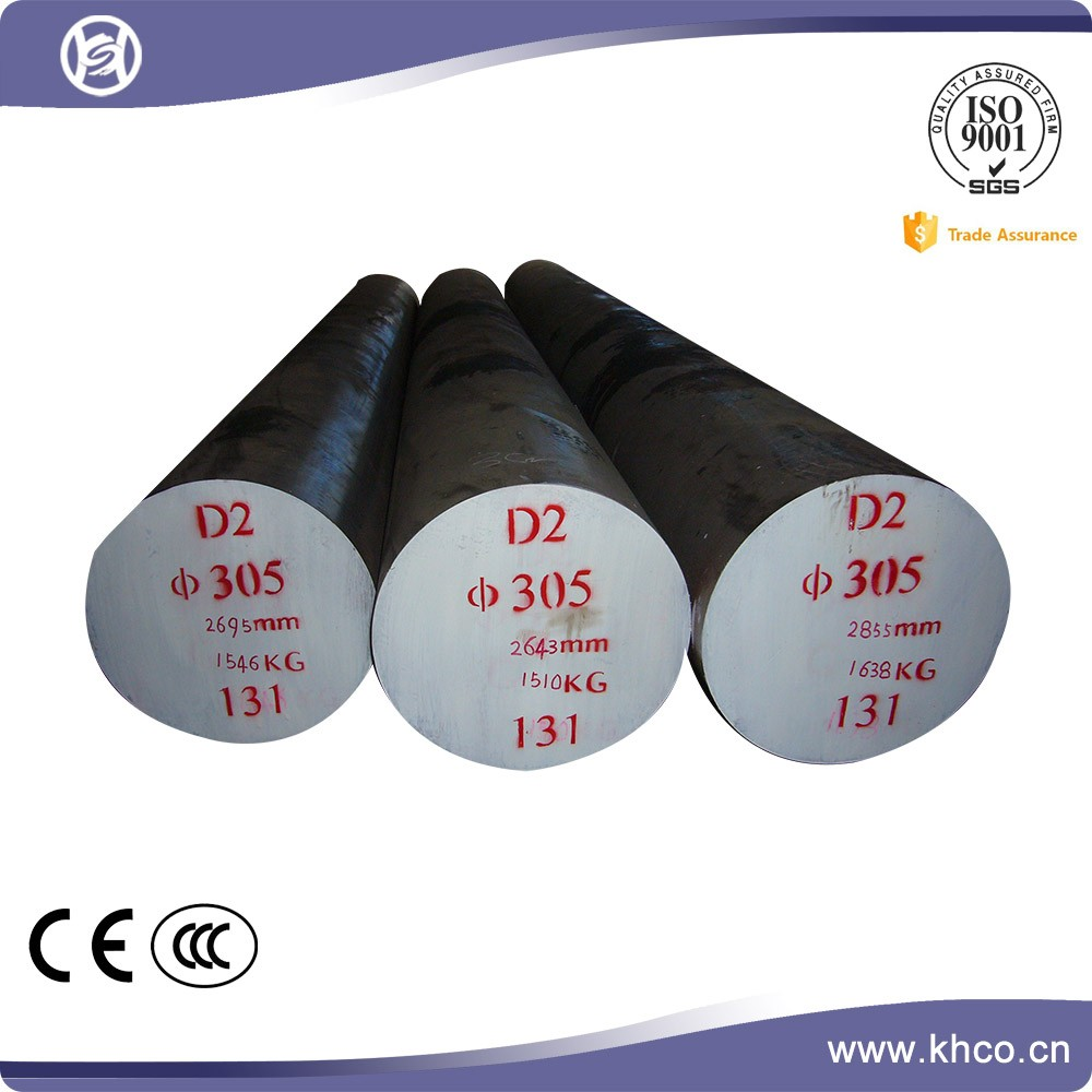 Heat treatment D2 tool steel composition