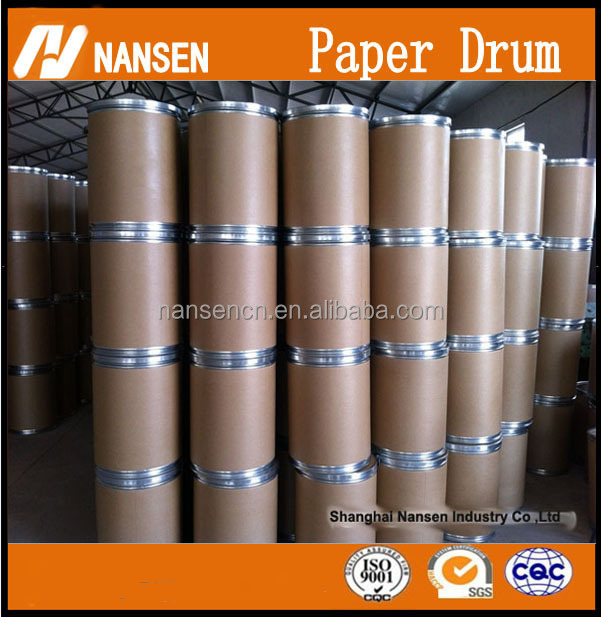 paper barrel Paper fiber Drum with wooden lids Hoop cardboard barrels