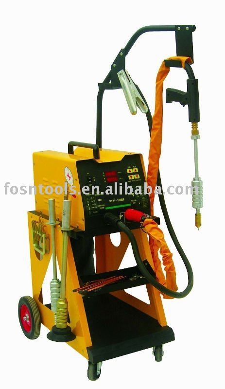 Car body repair equipment Automatic spot welding steel dent pulling machine